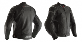 RST R-Sport Black Leather Jacket  CE